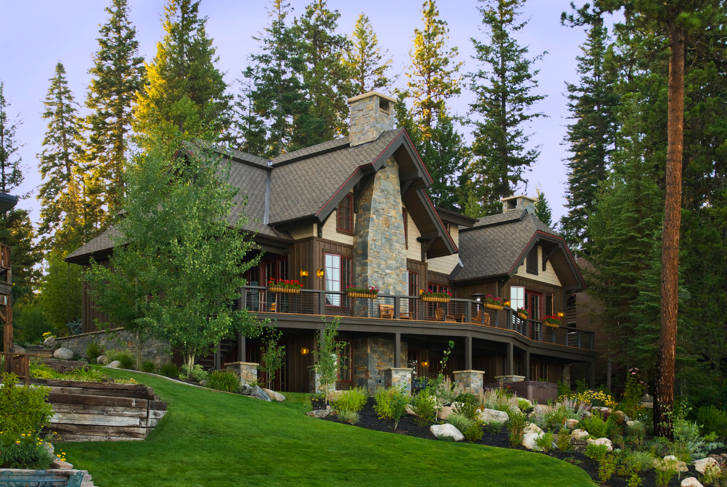 Craftsman Lake House