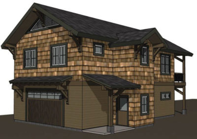 Lake House Accessory Garage (7)