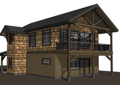 Lake House Accessory Garage (8)