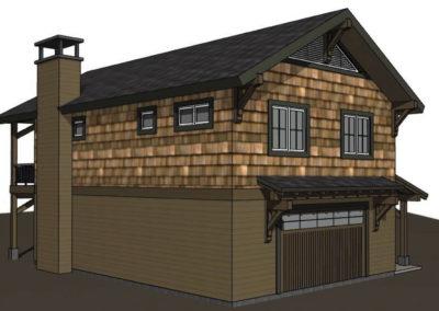 Lake House Accessory Garage (9)